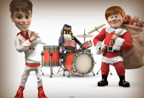 Justin bieber new video santa claus is coming to town free youtube
