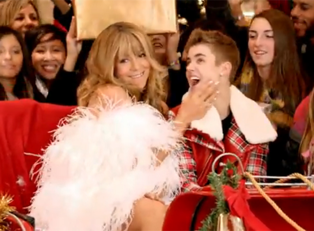 the brand new music video of justins single from under the mistletoe all i want for christmas is you the music video just debuted - All I Want For Christmas Is You Youtube