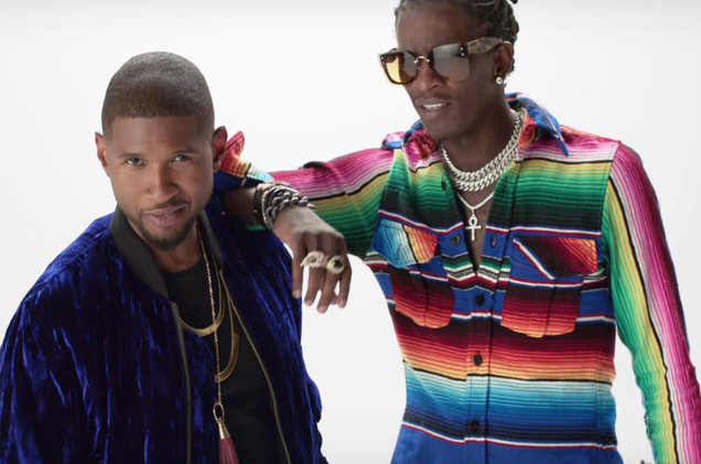 Download Usher - No Limit ft. Young Thug