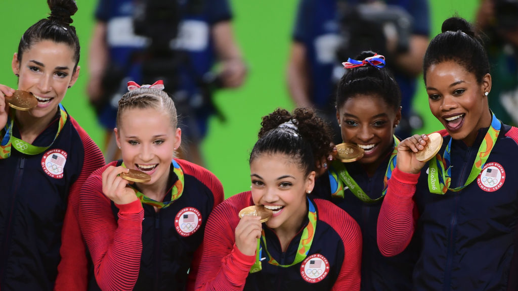 Rio 2016: US Women's Gymnastics Wins Gold in Team All-Around Final